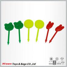 Promotion plastic fruit decoration forks