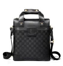men leather shoulder bag bag fashion 2012 genuine leather men's bag