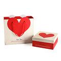 الحب على شكل قلب علبة شوكولا ورق التغليف، التغليف هدية صندوق المجوهرات