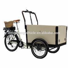 2014 hot sale Spain electric bicycle cargo bike trike kits