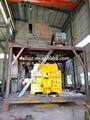 Hzs120 central dosadora de concreto planta com SICOMA misturador planetário