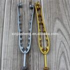 golden flip flop pvc straps