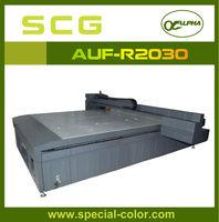 LED UV flatbed printer printing machine for rigid materials of pen,phone covers,grass,T-shirt etc