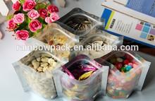 snack chips packaging plastic bags /dry fruit packaging bags/cookies plastic bag aluminum foil with zip lock
