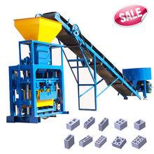 Low price semi-automatic soil clay brick making machine