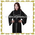 hot ventes mf23360 2014 eid abaya noire avec de haute qualité