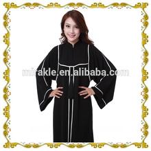 MF23360 2014 EID hot sales black abaya with high quality