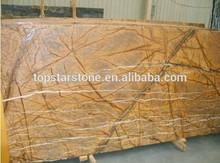 Rainforest yellow marble 2cm slabs