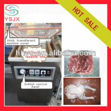 plastic bag food vacuum sealer , single vacuum chamber