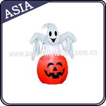 Popular Customized Wacky Halloween Inflatable Pumpkin And Ghost