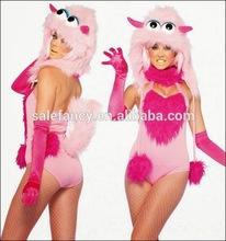 Дамы femle маскарадный костюм конфеты dult печенья монстр костюм QAWC-2141