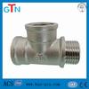 brass hydraulic tee fittings