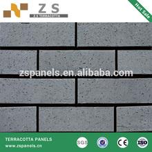 split tile 60*240*11mm terracotta tile split tile Foshan factory 2~5mm thickness eco-friendly energy-saving flexible clay split