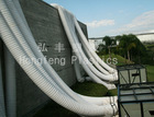 PVC coated polyester fabric flexible duct