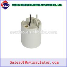 CE certificate porcelain halogen bulb sockets