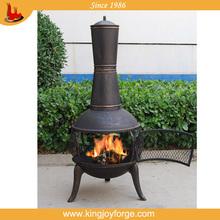 Popular garden wood burning chiminea