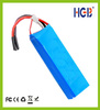503496 1400mAh 11.1v lithium polymer battery for RC Helicopter