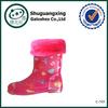 childrens cheap rubber rain boots soft rain boots winter/ C-705
