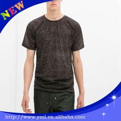 2014 short sleeve good quality polka dot t-shirt for men