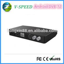 Vspeed DVB-T2 Set Top Box 1080P Android TV Box Amlogic 8726-MX Dual Core Support HDMI, WIFI and LAN