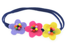 Fashion beautiful baby flower headband - flowers head wrap for baby