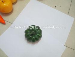 Artificial fruit and vegetables Blue pumpkin
