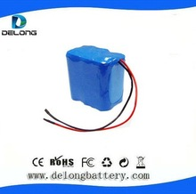 OEM/ODM 12v lithium ion rechargeable battery pack 10ah for LED light/camera