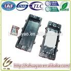 Plastic wall mounted optical fiber splice enclosure & fiber optic junction box