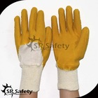 SRSAFETY industrial latex rubber hand gloves in china