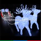 outdoor indoor led lighted running christmas reindeer lights