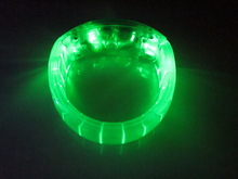 green flash led bracelet for concerts