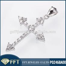 Arrowhead cross silver 925 pendant