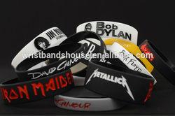 Personalized shape rubber wristband | Personal shape rubber bracelet | Customized silicone bracelet wristbands