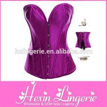 sexy bustier corset garter
