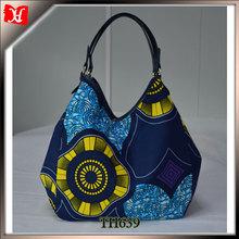 Wholesale african wax print women fashion handbag 2014