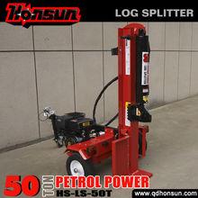 Farm machiney Honda GX390 gasline engine CE certificate manual smart log splitter wheels