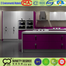 Different shapes kd promotional designs of kitchen hanging cabinets