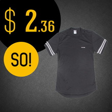 Popular low price solid black polo t-shirts