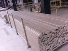 wood plastic composite bar- wpc decking bar