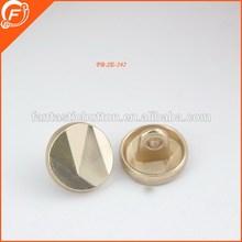 gold color fancy designer mens blazer metal buttons for garment