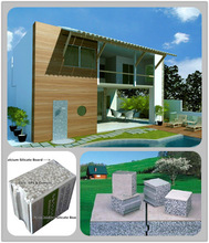 Daquan modern container house/prefab house/prefabricated/modular homes with EPS cement snadwich wall panel
