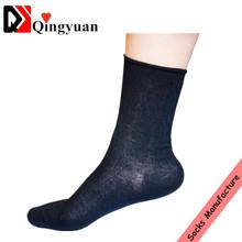 Bulk custom summer thin men business dress socks