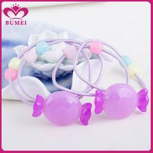 Purple candy kids hair accessories wholesale