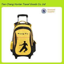 2014 trendy Chinese popular kids trolley school bag with wheels