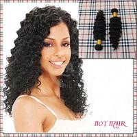 factory price 100% human hair beautiful Indian deep wave
