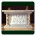 Antique Stone Catholic Altar Table