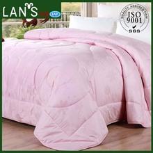 High Grade 100% Cotton Satin Drill Fabric Washable Australian Woollen Comforter Made in China