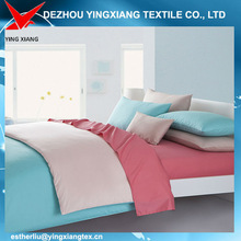 Linen fabric, 100% cotton and 50%cotton and 50% polyester bedding set