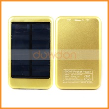 2014 New solar charger, 5000mAh Solar Charge for iphone 4s, ipad ,samsung galaxy,HTC ,Motorola smartphones