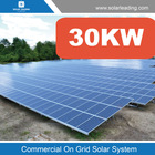 One stop solution 30kw energy saving system include solar panel grid for Sri Lanka market